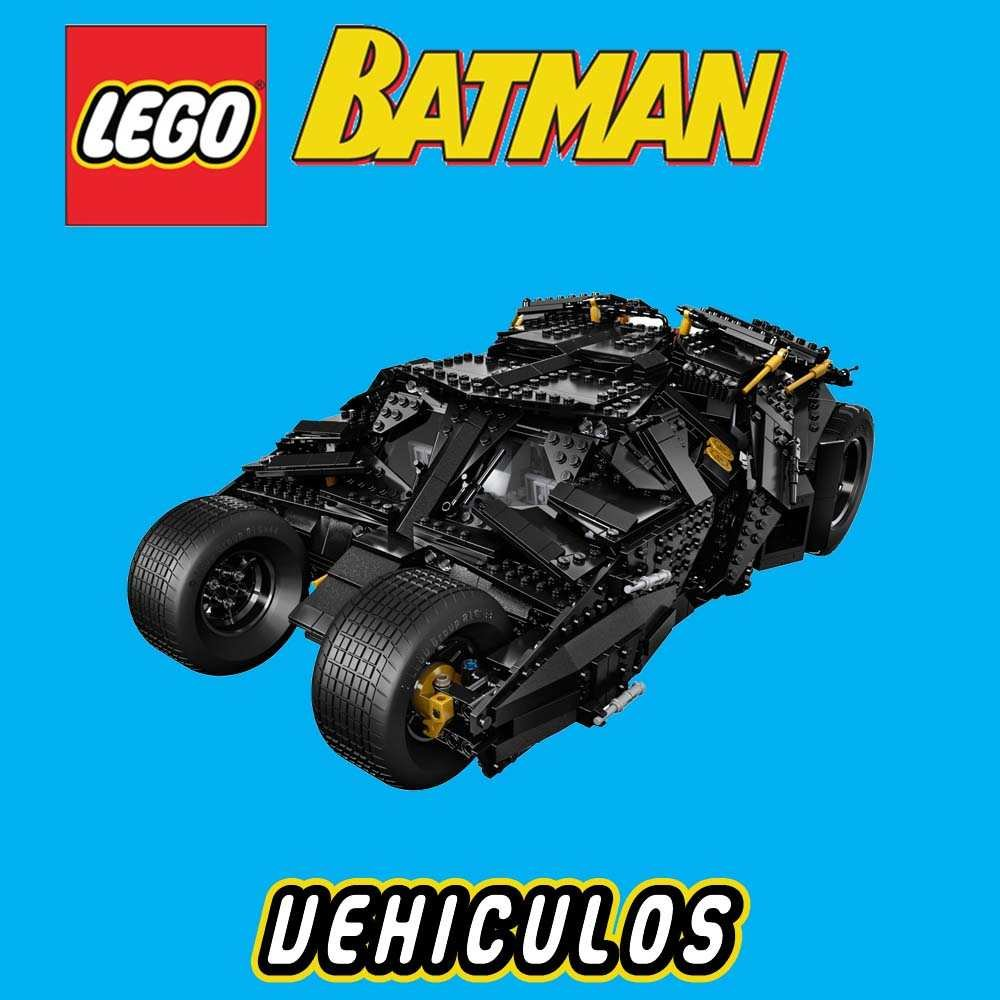 Lego batman vehiculos