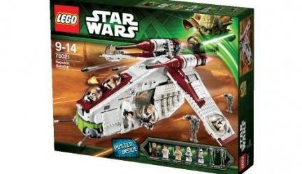Lego Star Wars – Republic Gunship (75021)