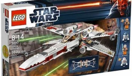 Lego Star Wars X Wing StarFighter (9493)